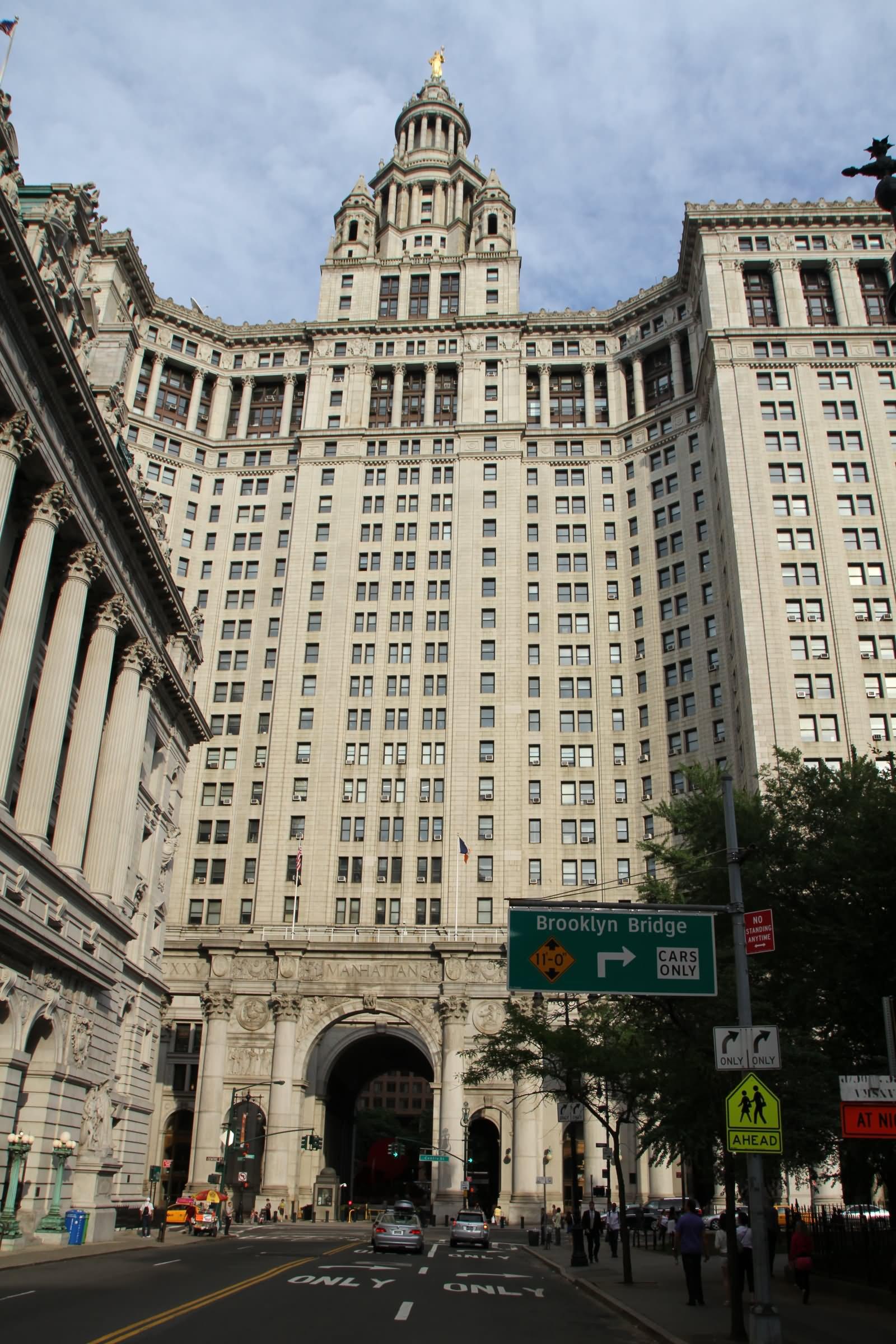 Manhattan Municipal Building: 30 Most Beautiful New York City Hall, Manhattan Pictures