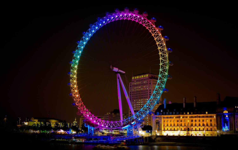 london eye by night - photo #6
