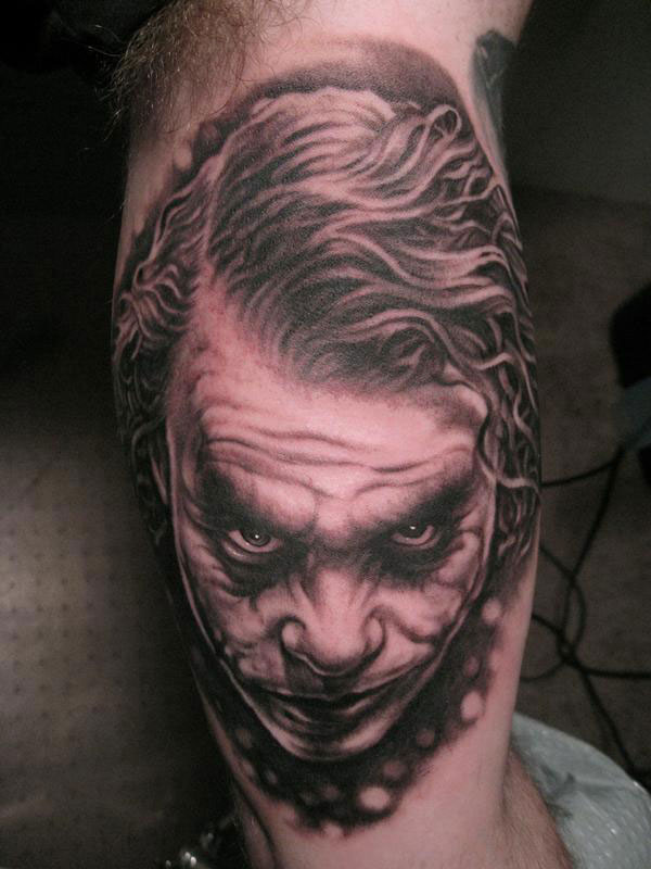 1e6c13c8f 17 Joker Tattoo Designs, Ideas, Pictures And Images