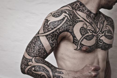 Norse Chest Tattoo: 30+ Latest Scandinavian Tattoos