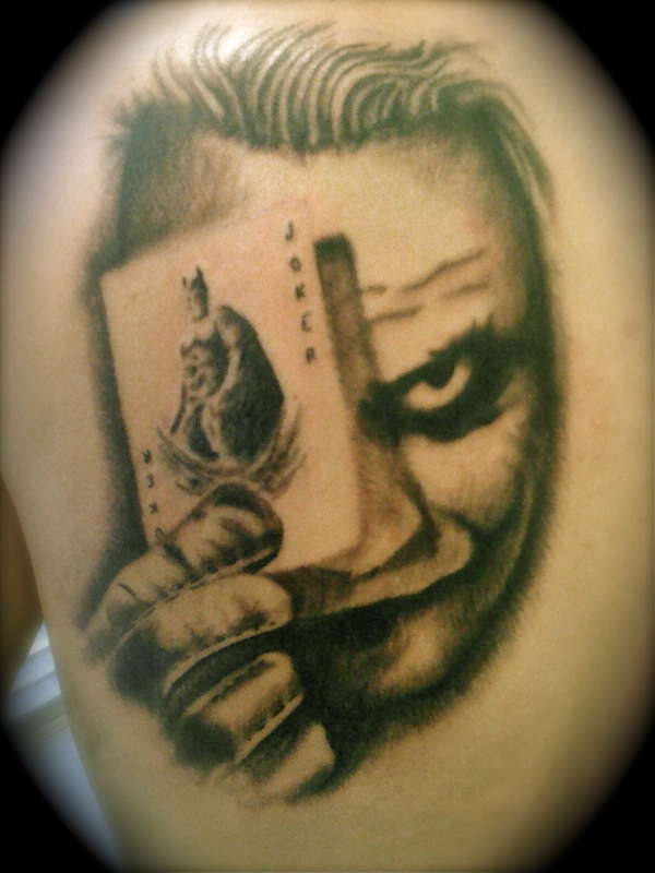 34 Joker Card Tattoos