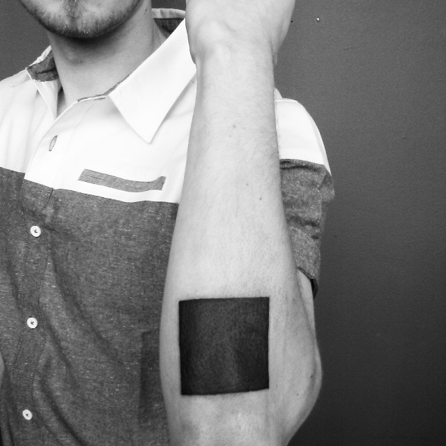 20 Awesome Square Tattoos