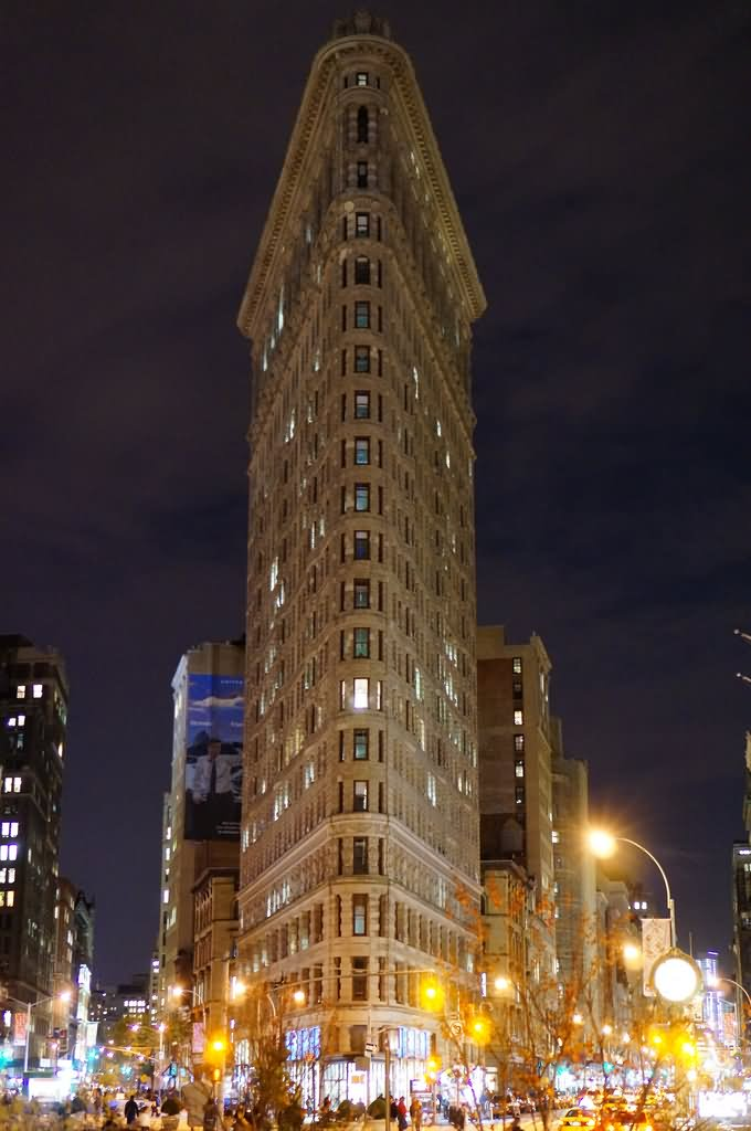 35 Incredible Night View Pictures Of Flatiron Building ...