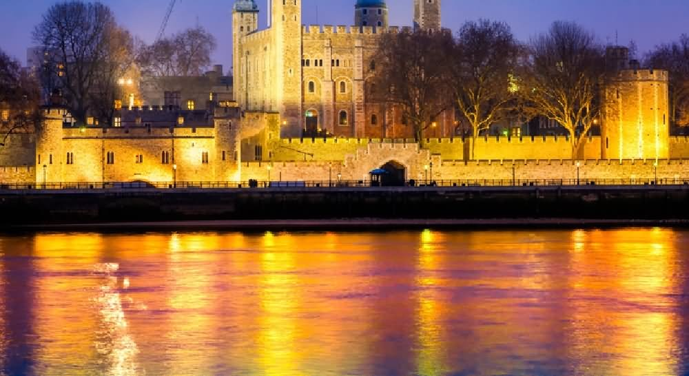 Image result for tower of london at night