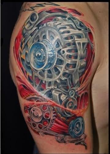 27+ Car Parts Tattoos