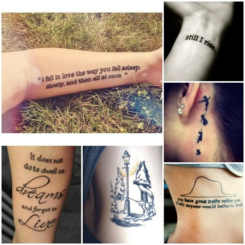 Tattoo Quotes Literary: 25+ Literary Tattoo Designs And Images Ideas