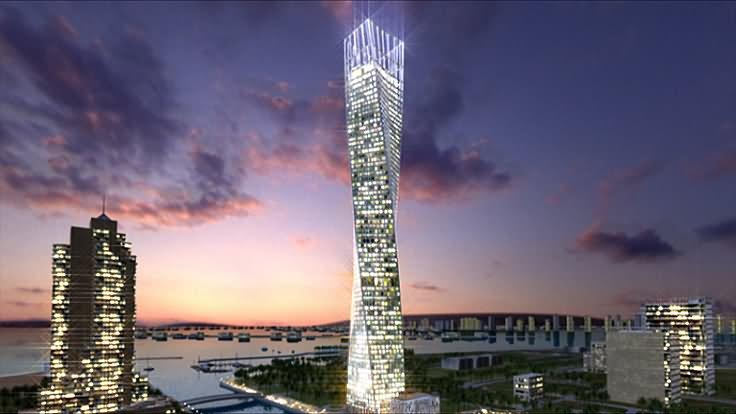 42 Amazing Cayan Tower Dubai Images And Photos