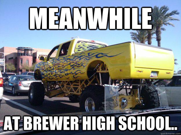 Funny Highschool Meme : High school seniors celebrate meme day with costumes
