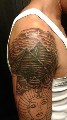 16 Aztec Pyramid Tattoos
