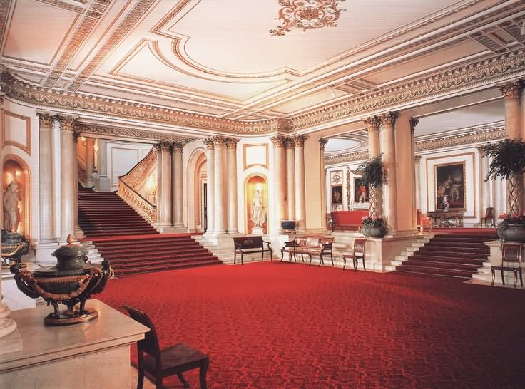 Beautiful Inside View Of The Buckingham Palace - THE MOST BEAUTIFUL INTERIOR PICTURES OF BUCKINGHAM PALACE LONDON