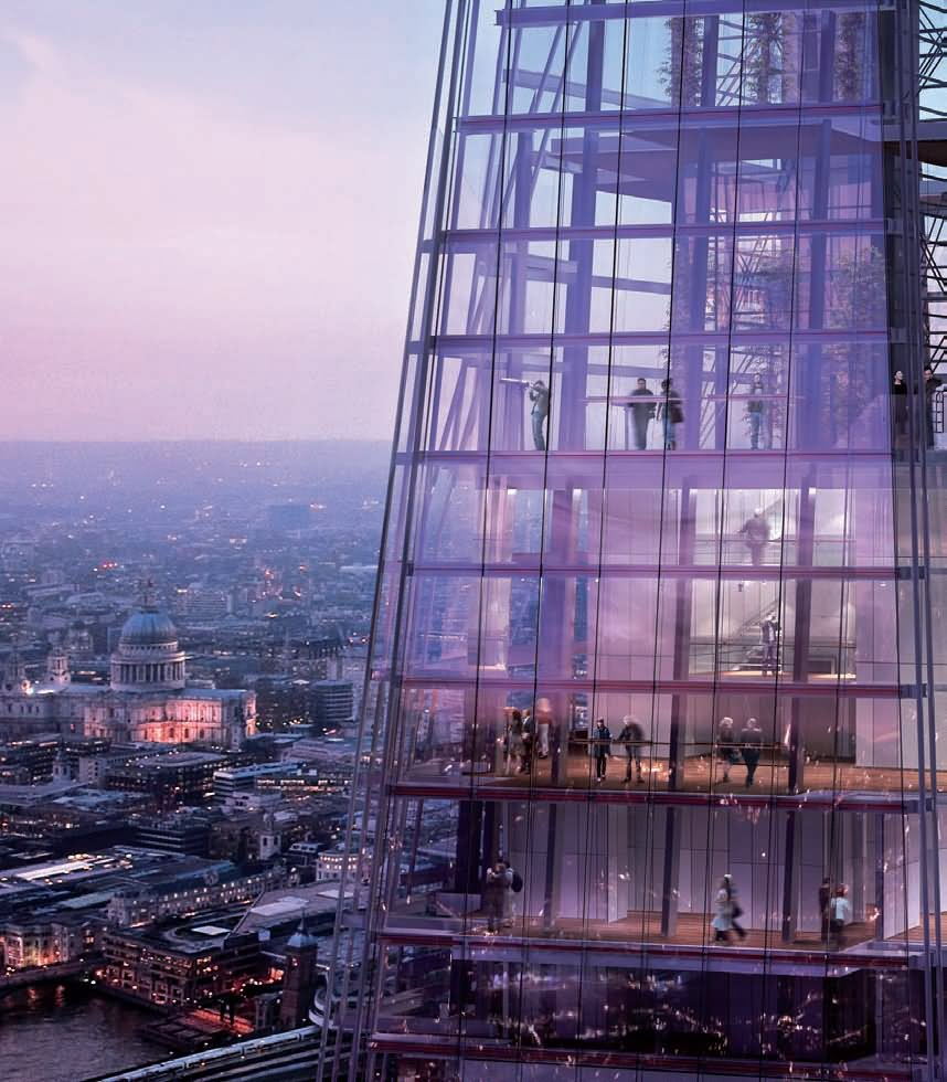 20 Incredible Inside View Pictures And Images Of The Shard