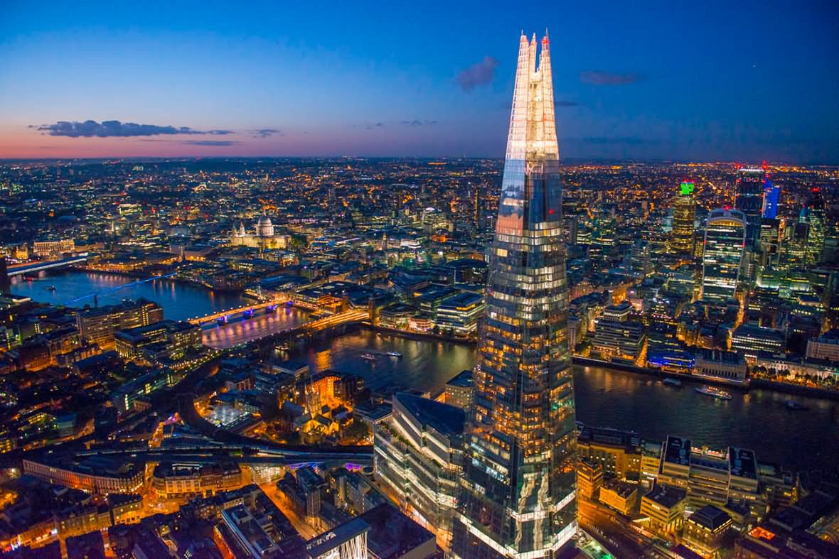 16 Incredible The Shard Pictures At Night