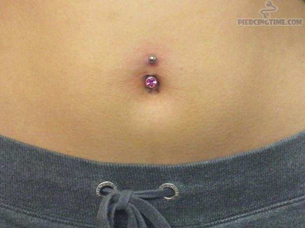 26 Beautiful Belly Piercing Pictures