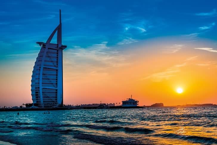 Adorable picture of the burj al arab dubai for Most beautiful hotel in dubai
