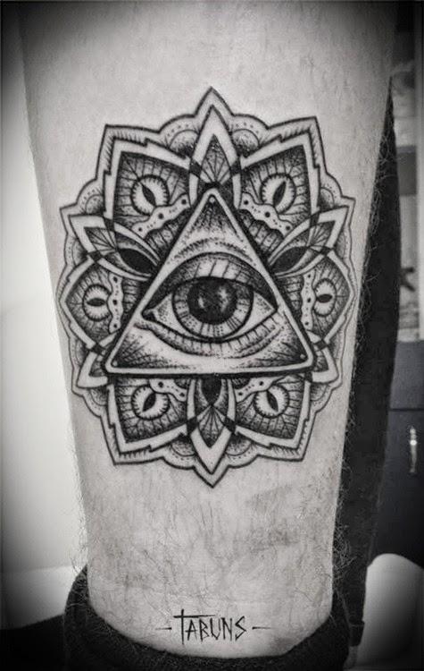 Illuminati Triangle Tattoo 29+ Triangle Eye Tatto...