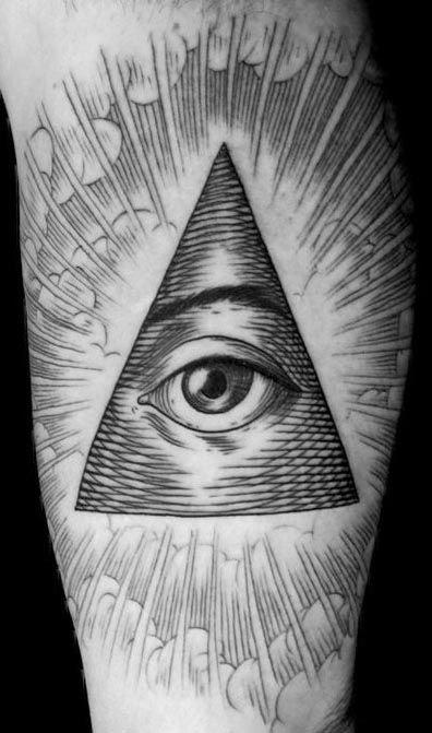 29+ Triangle Eye Tattoos Designs And Ideas