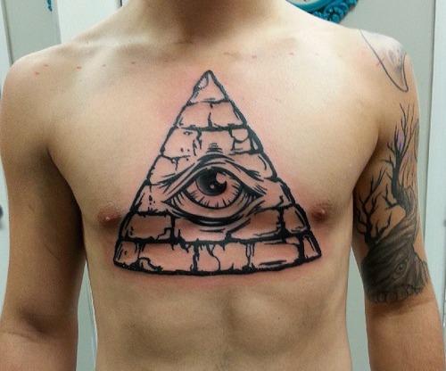36 traditional pyramid tattoos. Black Bedroom Furniture Sets. Home Design Ideas