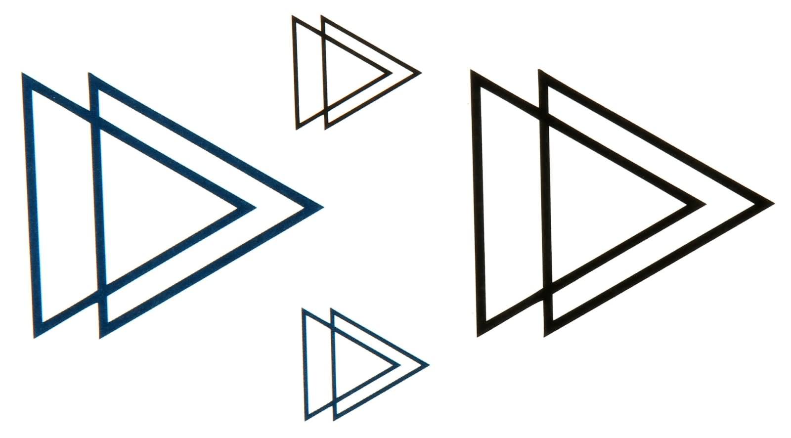 17 Amazing Triangle Tattoo Designs