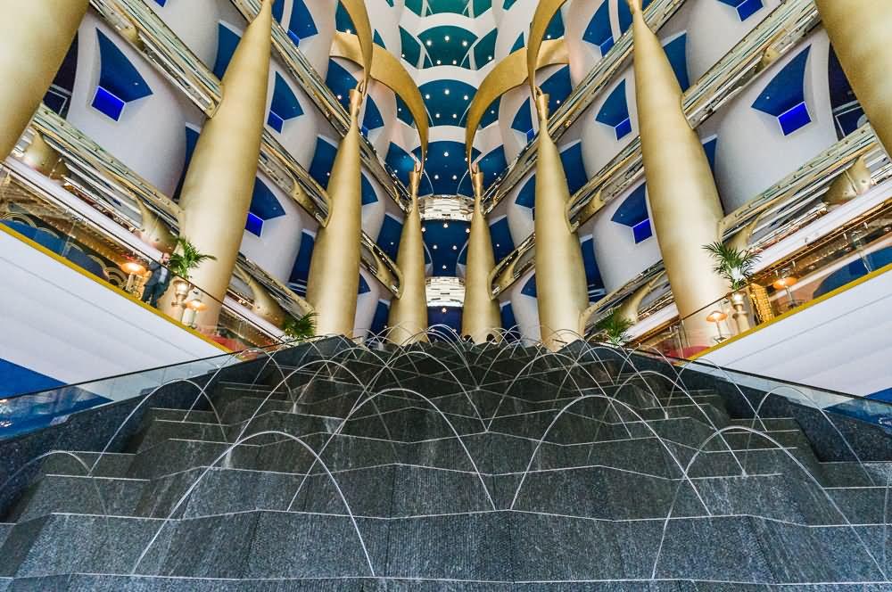 20 Most Beautiful Inside Pictures Of Burj Al Arab Dubai