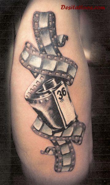 41 Latest Cinema Tattoos
