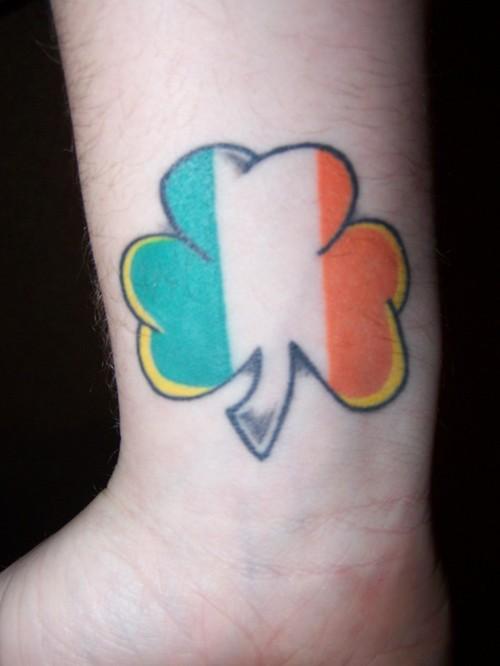 34+ Amazing Irish Flag Tattoos