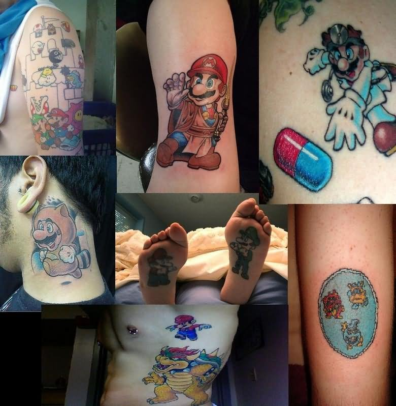60+ Best Video Games Tattoos
