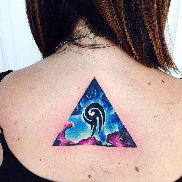 67 Best Triangle Tattoos Ideas