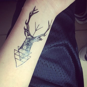 Triangle Design Tattoo