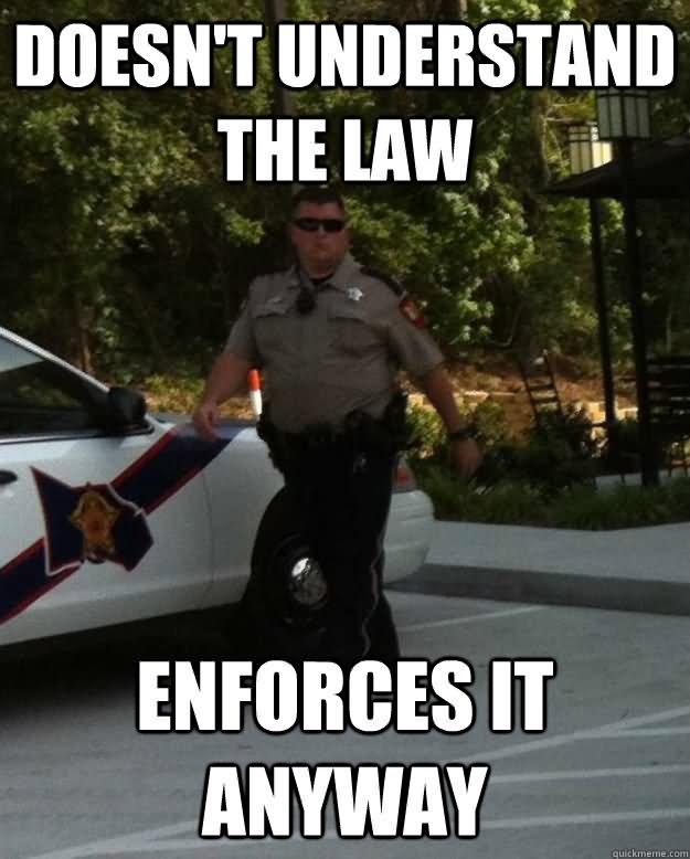 funny cop meme
