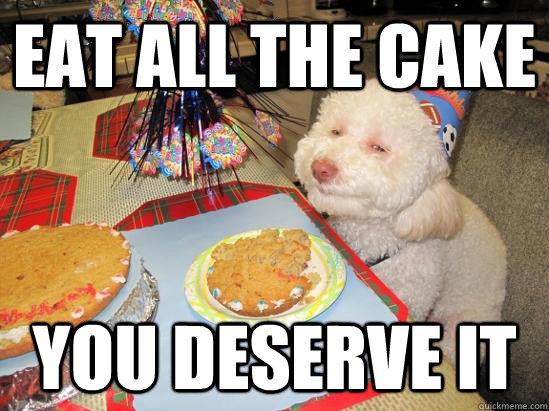 Groovy Dog Birthday Cake Meme Funny Image Personalised Birthday Cards Veneteletsinfo