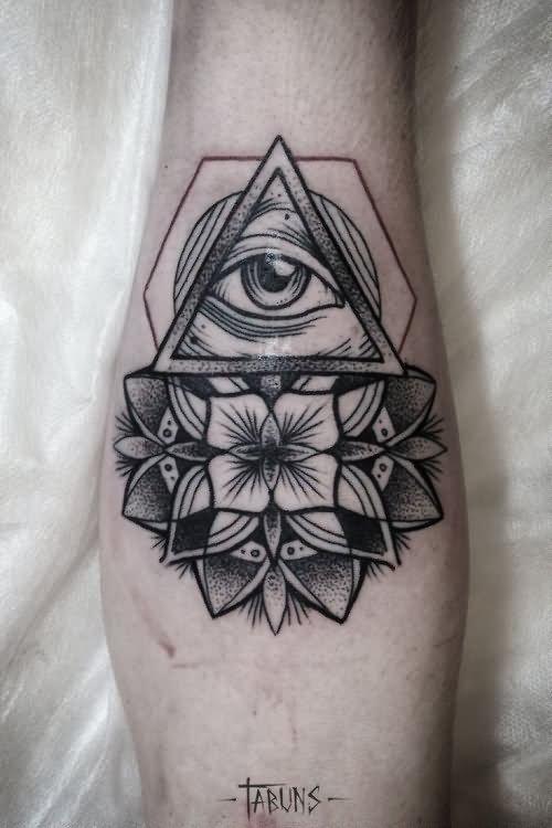 16 Unique Triangle Tattoos On Forearm