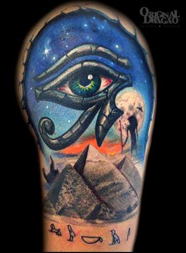 50 awesome egyptian tattoos. Black Bedroom Furniture Sets. Home Design Ideas
