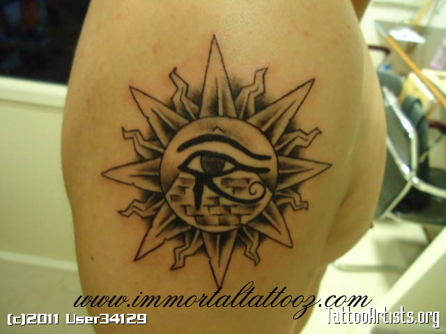 Eye Of Horus Sun