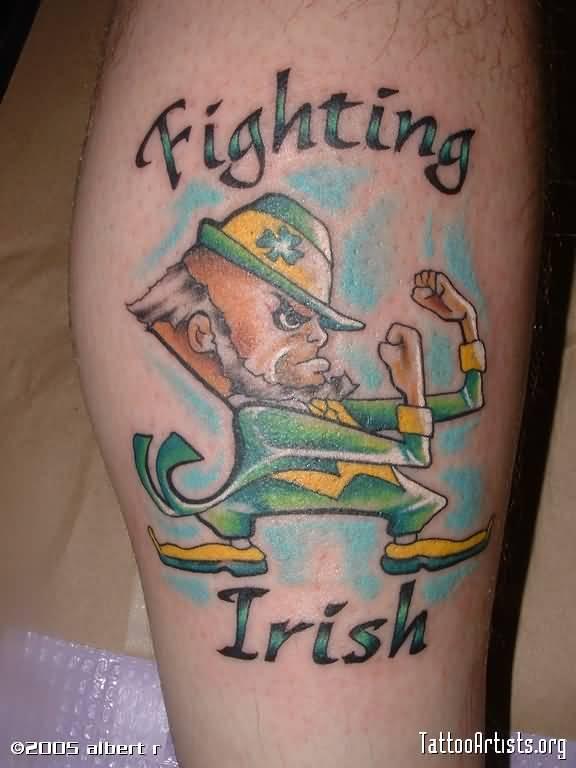 18 irish tattoos ideas for leg. Black Bedroom Furniture Sets. Home Design Ideas