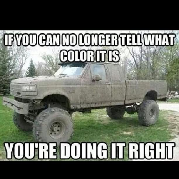 Funny Truck Meme If You An No Longer Tell What Color It Is Picture