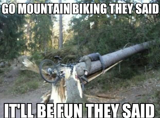 Image result for MOUNTAIN BIKE MEME