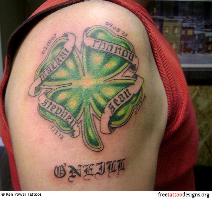 Irish Tattoos For Men: 9+ Shoulder Irish Tattoos