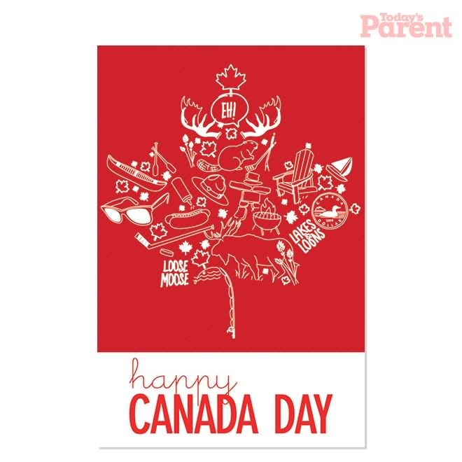 30 best canada day wishes photos and images happy canada day greeting card m4hsunfo