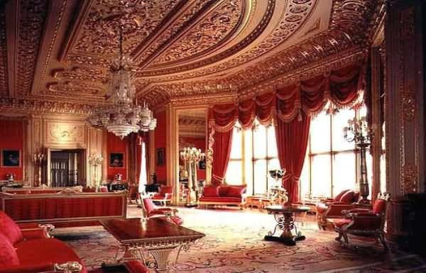 Inside Buckingham Palace London - THE MOST BEAUTIFUL INTERIOR PICTURES OF BUCKINGHAM PALACE LONDON