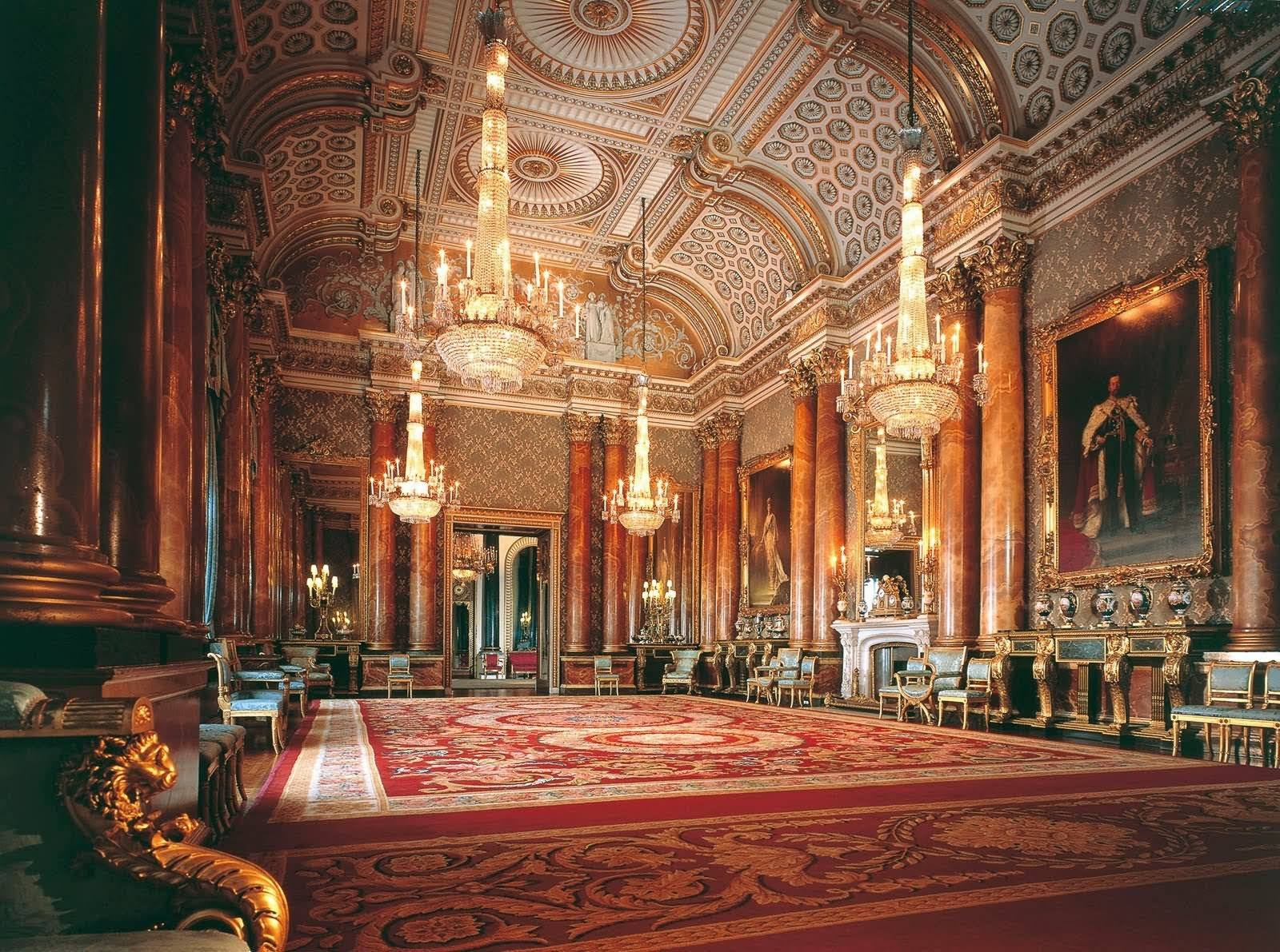 Inside Buckingham Palace - THE MOST BEAUTIFUL INTERIOR PICTURES OF BUCKINGHAM PALACE LONDON