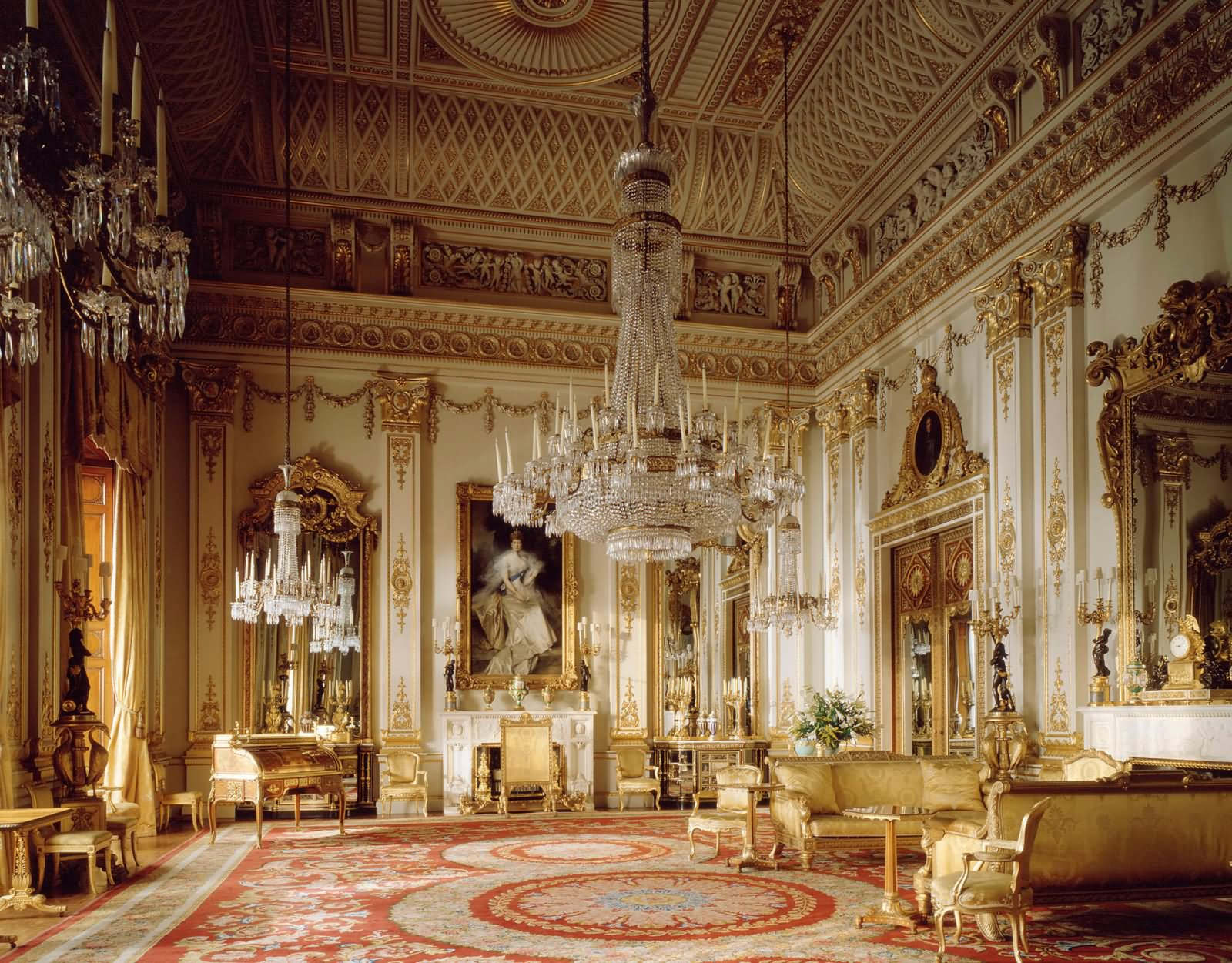 Inside Picture Of The Buckingham Palace London - THE MOST BEAUTIFUL INTERIOR PICTURES OF BUCKINGHAM PALACE LONDON