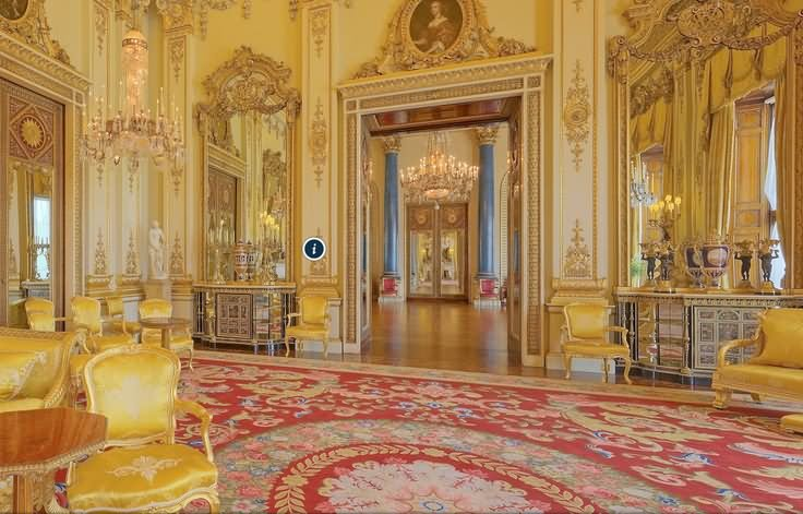 Inside View Of The Buckingham Palace London - THE MOST BEAUTIFUL INTERIOR PICTURES OF BUCKINGHAM PALACE LONDON