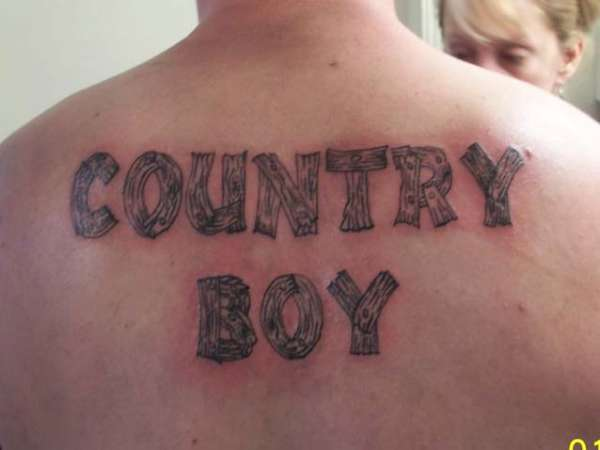 Pics for country boy tattoo designs for Country tattoo ideas