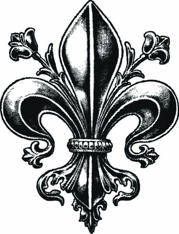 Cute Fleur De Lis Tattoo On Finger on fleur de lis home furniture
