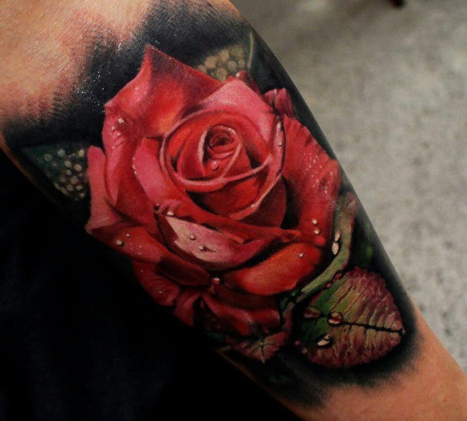 32 beautiful 3d leg tattoos. Black Bedroom Furniture Sets. Home Design Ideas