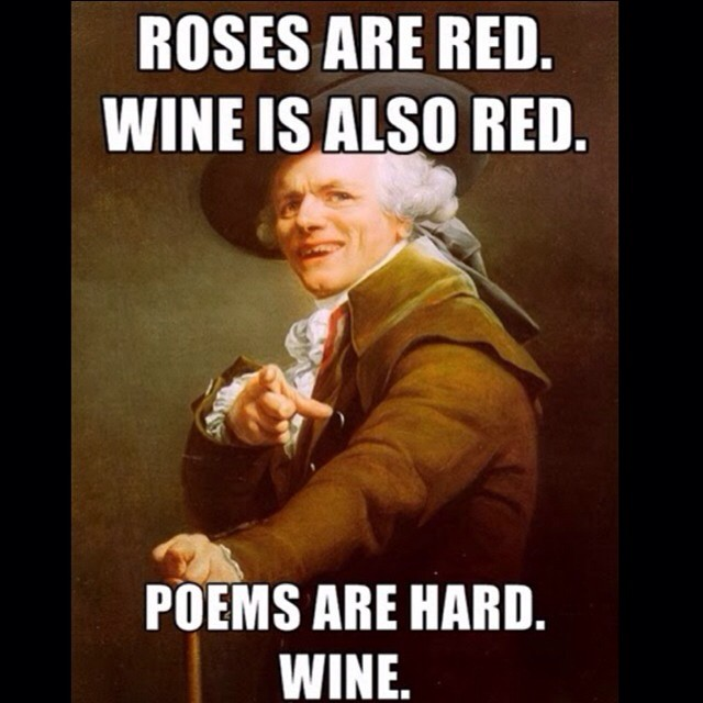Roses Are Red Wine Is Also Red Funny Drinking Meme Photo 24 most funniest drinking meme pictures and photos that will make