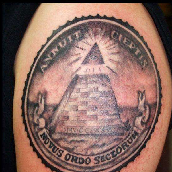 Pyramid Tattoos Designs Ideas And Meaning: 28+ Simple Pyramid Tattoos Pictures And Designs