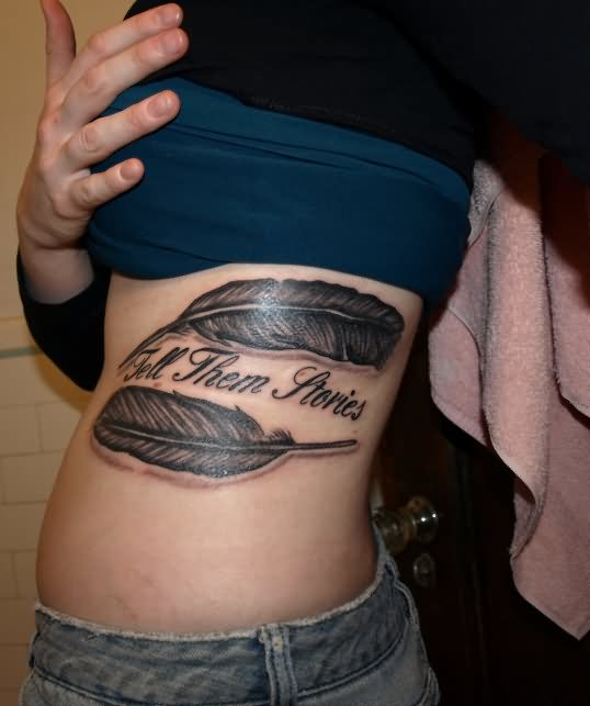 Feather Of Truth Tattoo