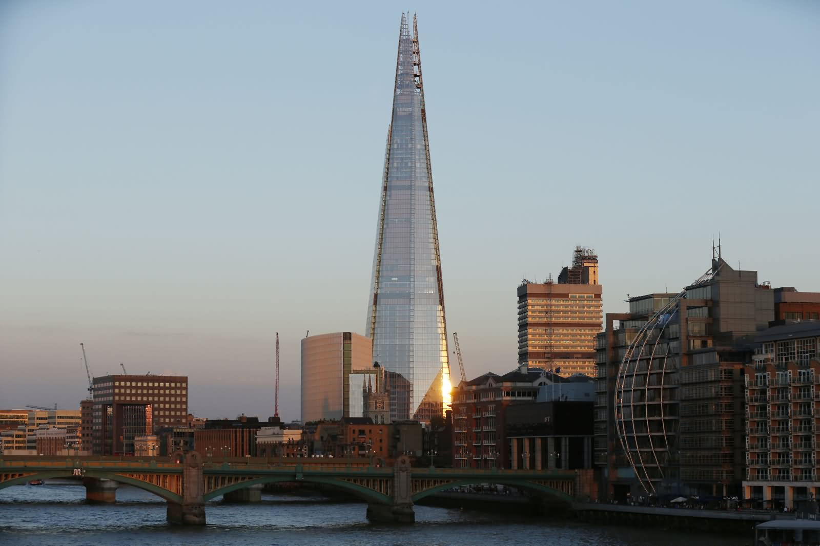 Image result for Shard Hotel near London's Thames