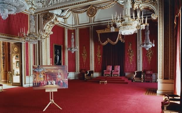 The Throne Inside The Buckingham Palace - THE MOST BEAUTIFUL INTERIOR PICTURES OF BUCKINGHAM PALACE LONDON